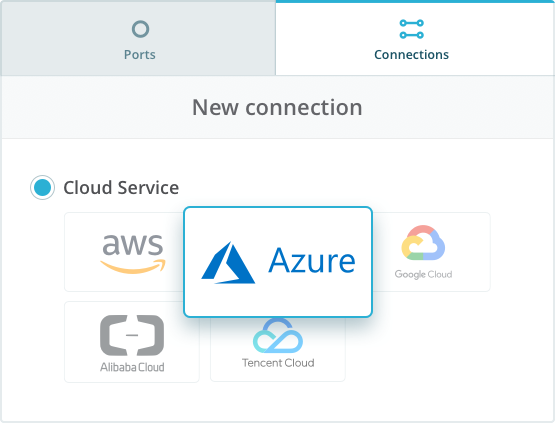 Connect to Microsoft Azure ExpressRoute - Console Connect