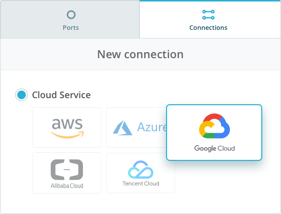 Connect to Google Cloud