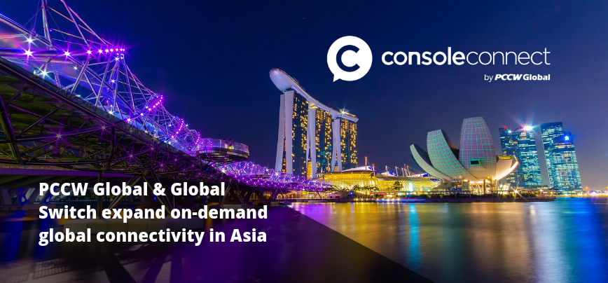 Console Connect and Global Switch in Asia