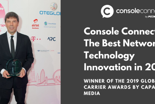 Console Connect wins Capacity Media