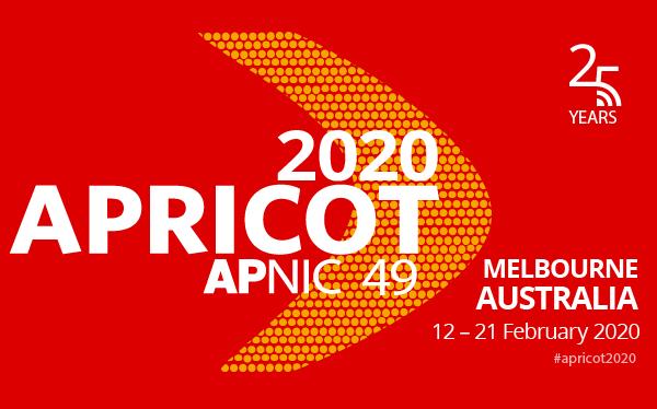 Apricot 2020 event logo
