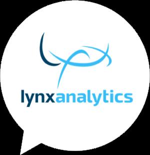 Lynx analytics logo in bubble