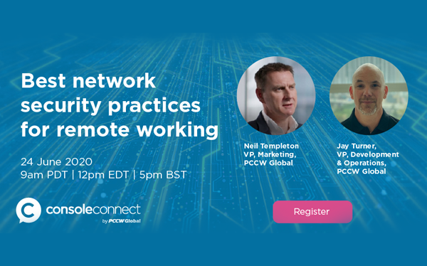 In this webinar, Jay Turner and Neil Templeton addresses some of the latest security concerns facing businesses during COVID-19 and looks at some of the measures they can take to improve their network security and performance banner