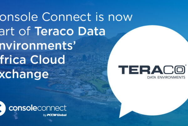 Console Connect is now live in Teraco's Africa Cloud Exchange