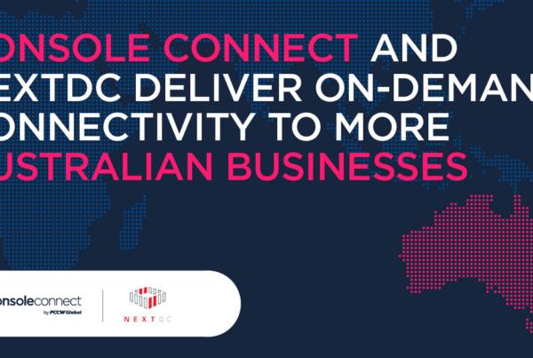Console Connect & NextDC press release image